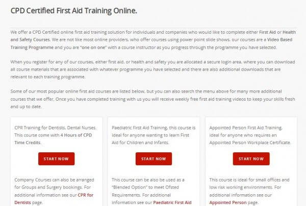 Complete Training Online offer CPD Certified Online Training Courses