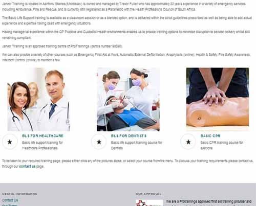 Basic life support training courses Surrey