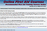 Online CPD Certified First Aid Courses