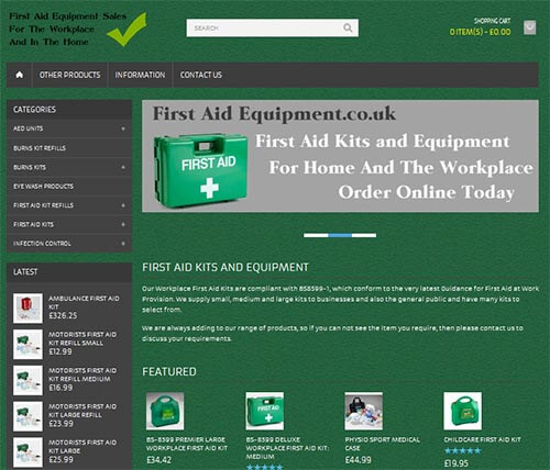 Workplace First Aid Equipment Sales