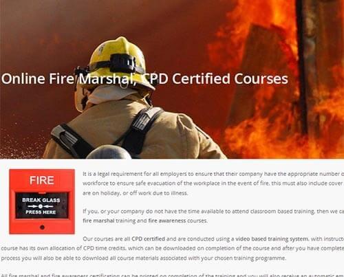 Online Fire Marshal Training