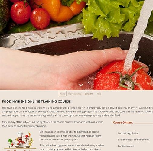 Food Hygiene online training courses