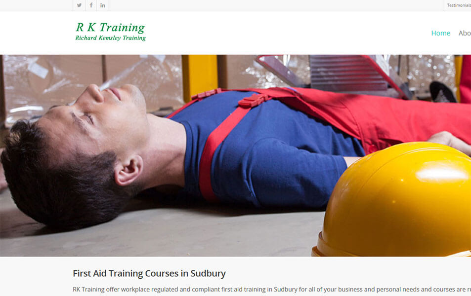 Regulated first aid training courses in Sudbury