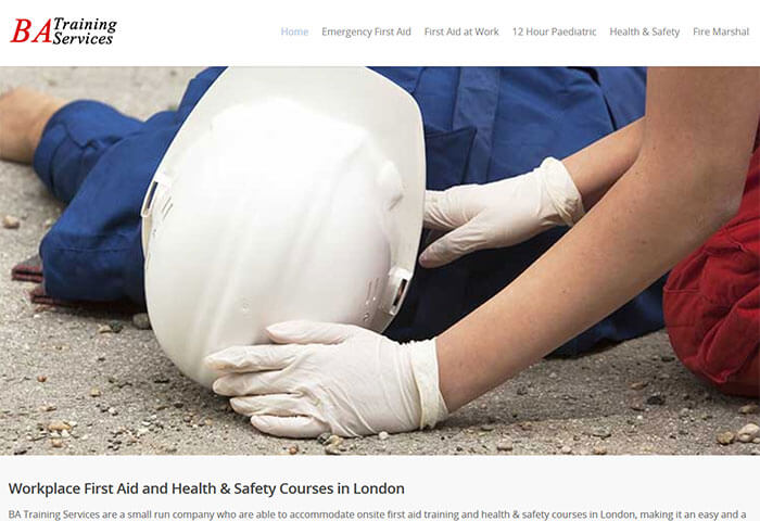 First aid and health & safety training in London