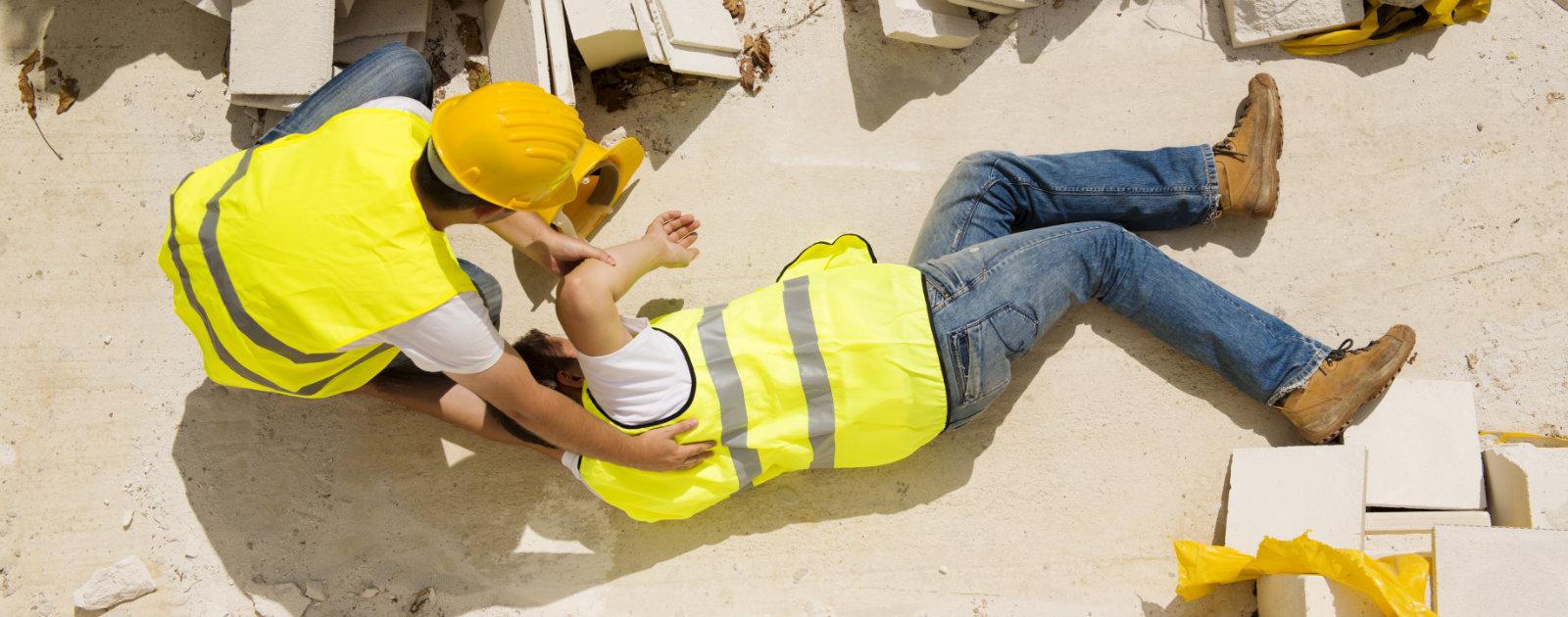 Man injured at work